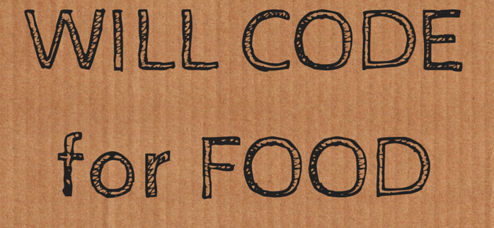 Will code for food